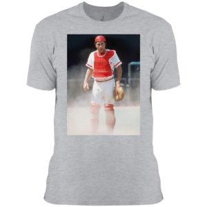 Johnny Bench Catcher Photo Shirt