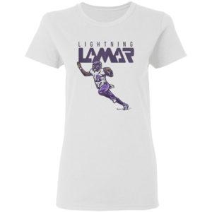 Lamar Jackson Baltimore Ravens Lightning Lamar Shirt