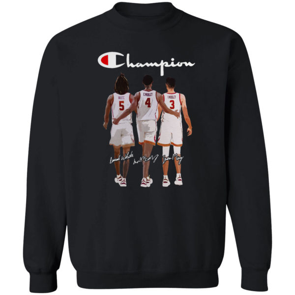USC Trojans White Isaiah Mobley Evan Mobley Champion Signatures Shirt
