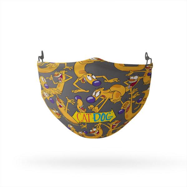 CatDog Heads Reusable Cloth Face Mask