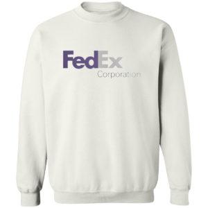 Fedex Corporation Logo Purple Shirt