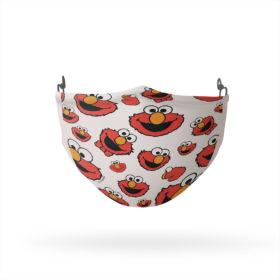 Sesame Street Elmo Face Pattern Reusable Cloth Face Mask