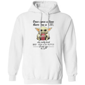 Once Upon A Time There Was A Mom Who Really Loved Baby Yoda And Dr Pepper It Was Me Shirt