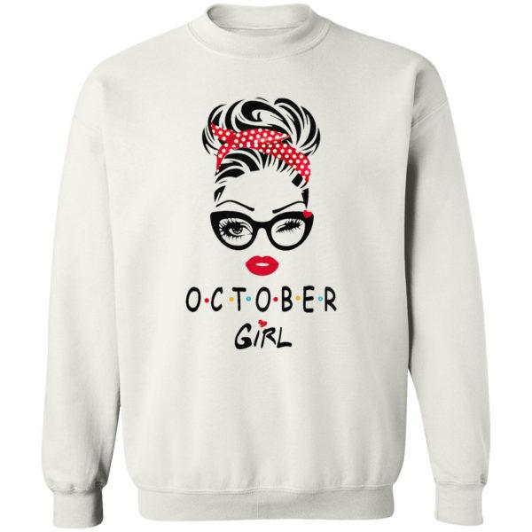 October Girl Friend Show TV 2021 shirt