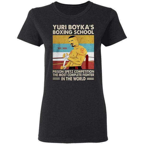 Yuri Boyka's boxing school prison spetz competition shirt