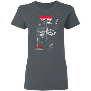 Iron maiden skull hilley the heart and soul of performance logo shirt