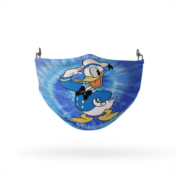 Donald Duck Tie Dye Reusable Cloth Face Mask