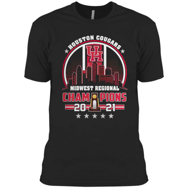 Houston Cougars Midwest Regional Champions 2021 Shirt