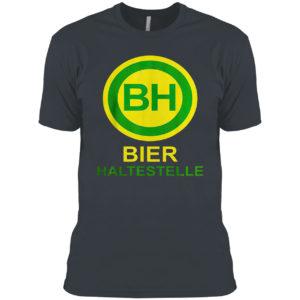 Bier haltestelle shirt