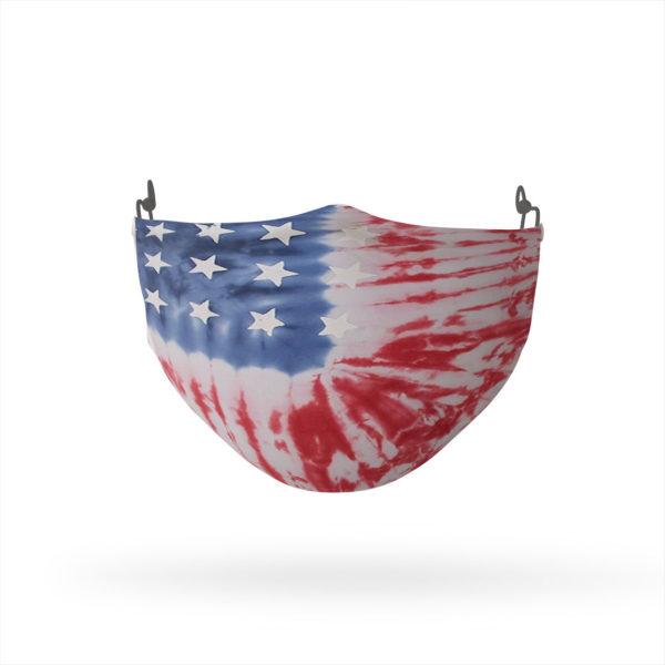 American Flag Tie Dye Reusable Cloth Face Mask
