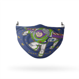 Toy Story Star Spiral Reusable Cloth Face Mask