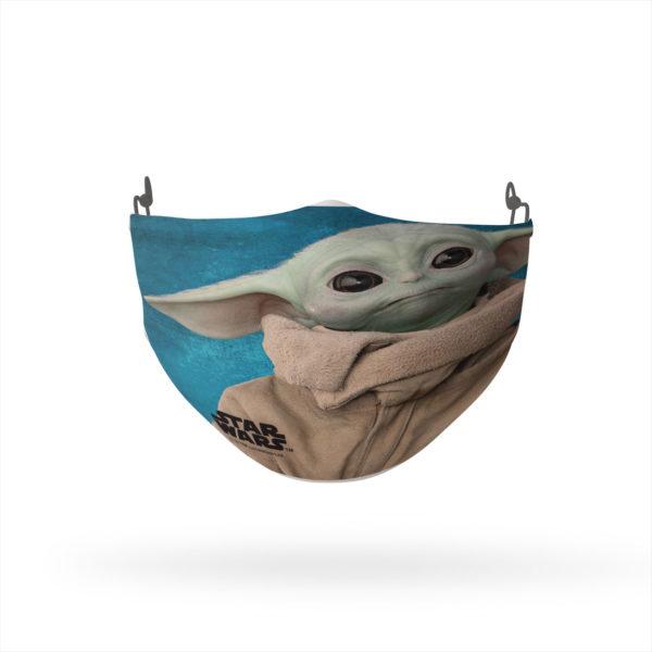 The Child Baby Yoda Cloth Reusable Cloth Face Mask