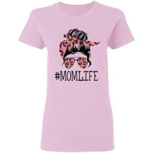 Mom Life Leopard Shirt