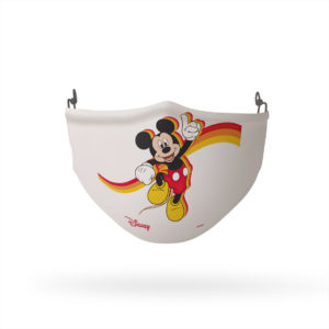 Mickey Mouse Stripes Reusable Cloth Face Mask