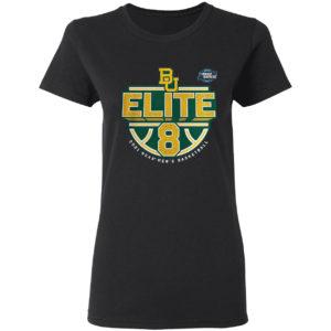 Baylor Bears 2021 NCAA Men's Basketball Tournament March Madness Elite 8 shirt