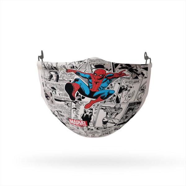 Spider-Man Retro Comic Collage Reusable Cloth Face Mask