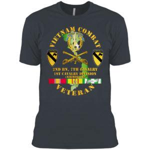 5th Cavalry Regiment Airmobile Vietnam War shirt