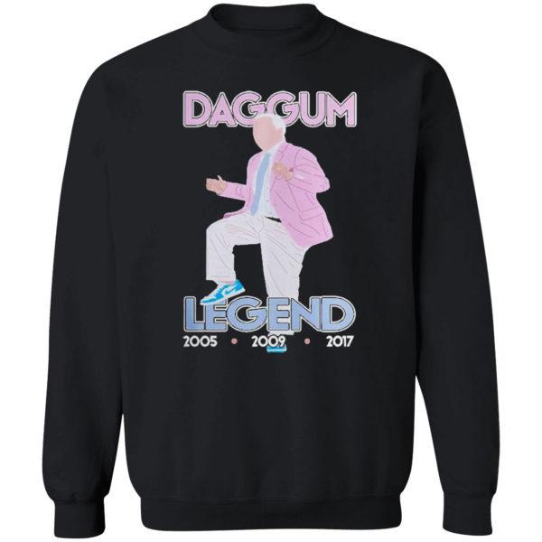 Ringz roy williams daggum legend 2005 2021 shirt
