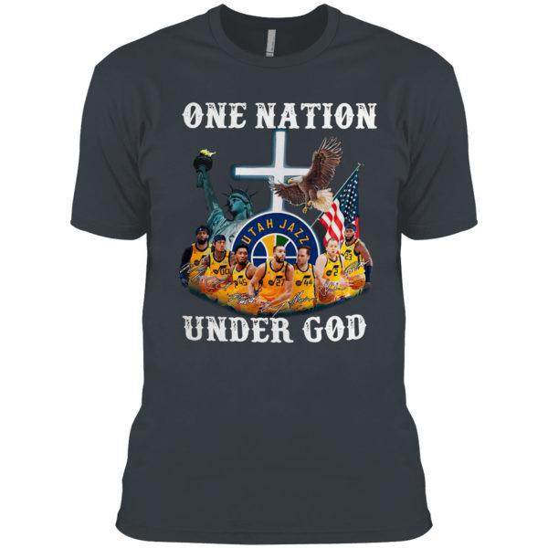 One nation Utah Jazz under God shirt