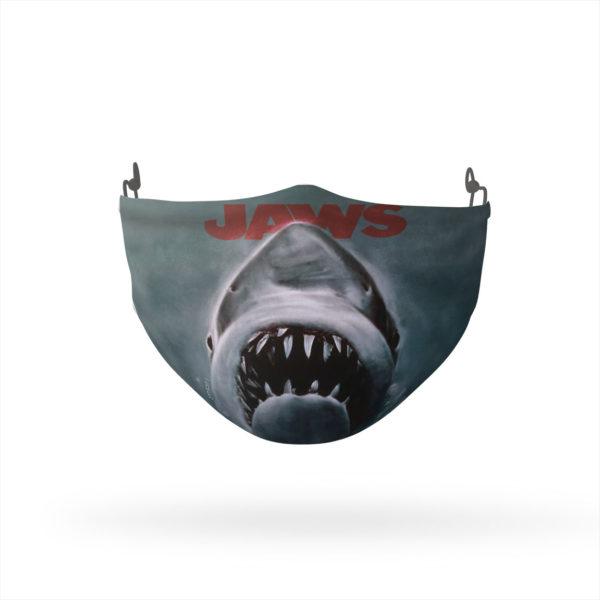 Jaws Shark Reusable Cloth Face Mask