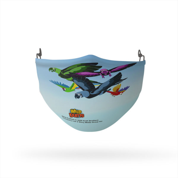 Wild Kratts Fly High Reusable Cloth Face Mask