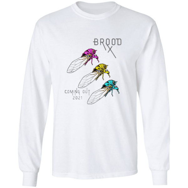 Pansexual Cicadas Brood Coming Out 2021 shirt