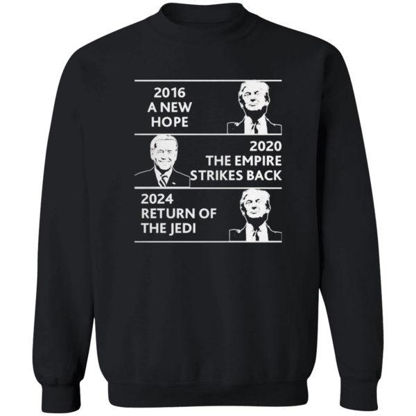 2016 a new hope 2020 the empire strikes back Trump Biden shirt