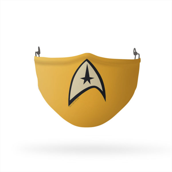 Star Trek Command Uniform Reusable Cloth Face Mask