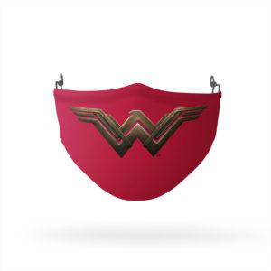Wonder Woman Movie Logo Reusable Cloth Face Mask