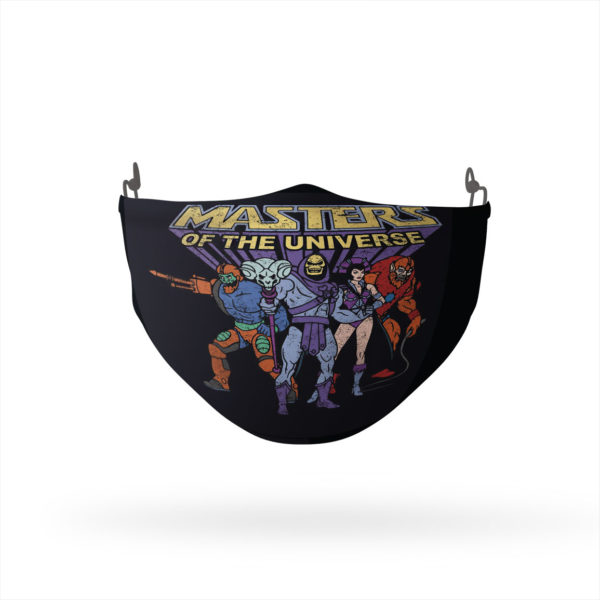 Masters of the Universe Team of Villains Reusable Cloth Face Mask