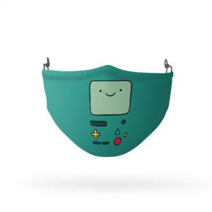 Adventure Time BMO Face Reusable Cloth Face Mask