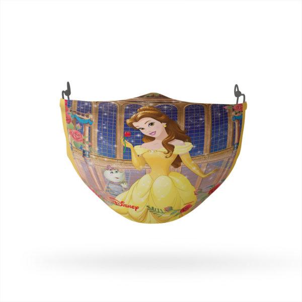 Disney Princess Belle and Friends Reusable Cloth Face Mask