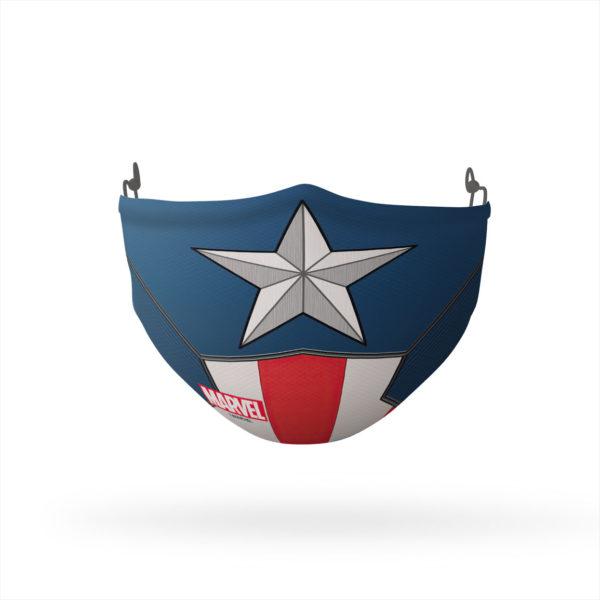 Captain America Logo Reusable Cloth Face Mask