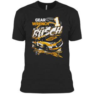 Kurt Busch Checkered Flag Slingshot Graphic Shirt