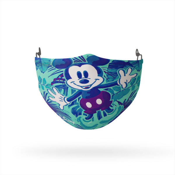 Mickey Mouse Tropical Reusable Cloth Face Mask