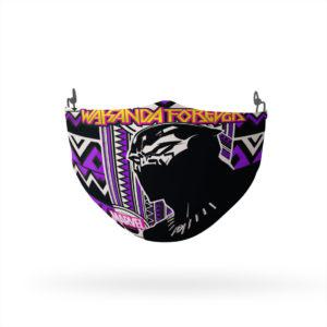 Black Panther Wakanda Forever Reusable Cloth Face Mask
