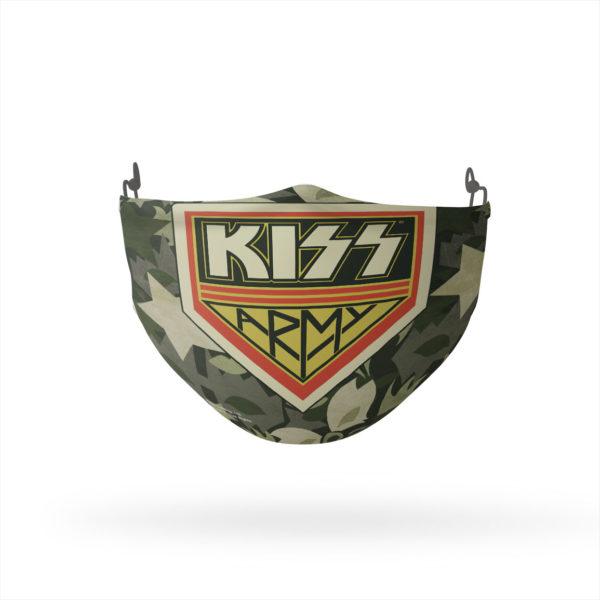 KISS Army Camo Reusable Cloth Face Mask