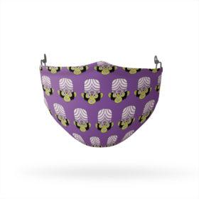 Powerpuff Girls Mojo Jojo Head Pattern Reusable Cloth Face Mask