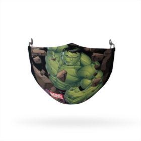 Hulk Smashing Through Reusable Cloth Face Mask