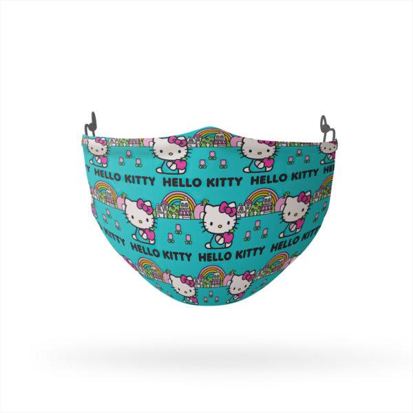 Hello Kitty Rainbow Reusable Cloth Face Mask
