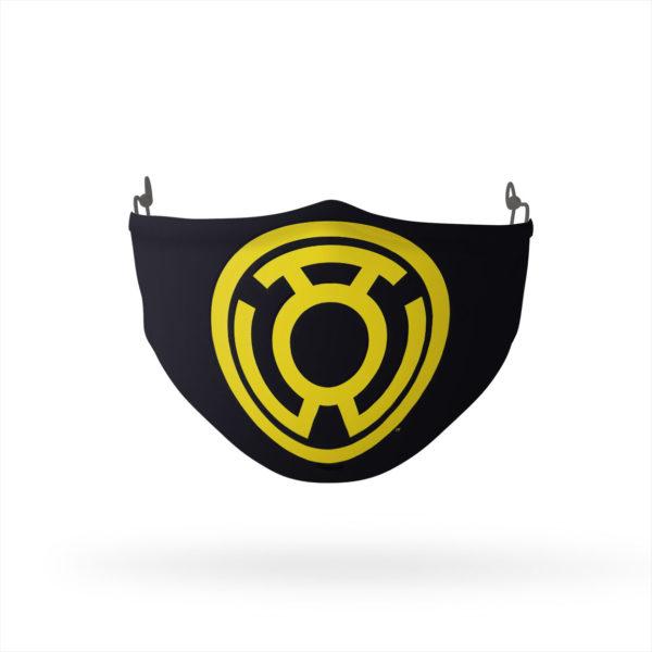 Green Lantern Yellow Emblem Reusable Cloth Face Mask