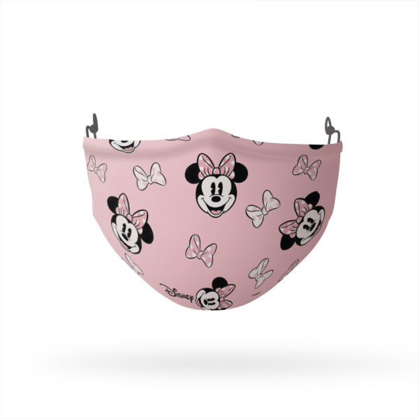 Minnie Mouse and Bows Pattern Reusable Cloth Face Mask