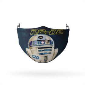 Star Wars R2-D2 in Space Reusable Cloth Face Mask