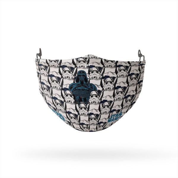 Darth Vader Stands Out Reusable Cloth Face Mask