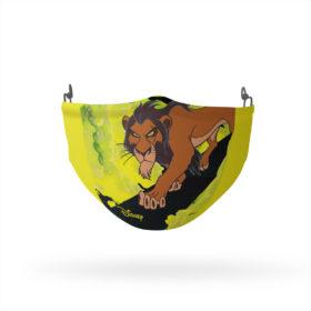 The Lion King Scar Green Smoke Reusable Cloth Face Mask