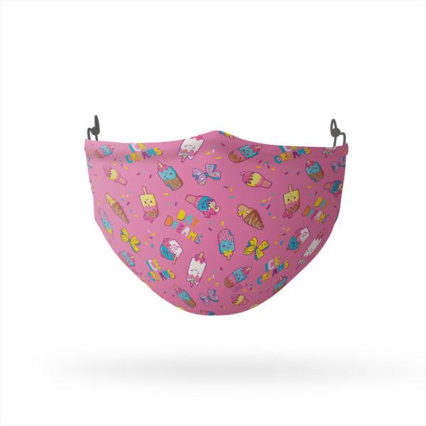 Jojo Siwa Ice Cream Day Dream Reusable Cloth Face Mask