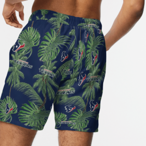 Houston Texans Tropical Palm Tree Hawaii Shirt, Shorts