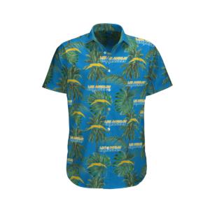 Los Angeles Chargers Tropical Palm Tree Hawaii Shirt, Shorts