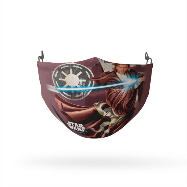 Star Wars Obi Wan Reusable Cloth Face Mask