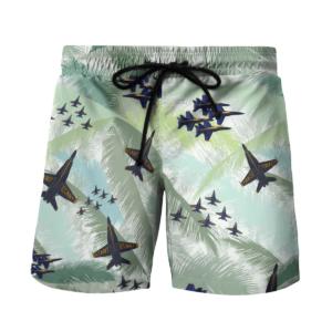 US Blue Angels USN Hawaiian Beach Shirt, Shorts